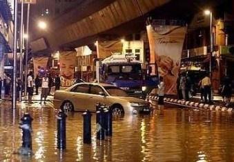 proses terjadinya bencana banjir