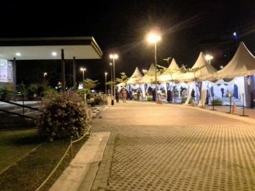 Khemah tambahan sebagai persediaan untuk majlis Iftar bersama anak yatim dan Tahfiz.