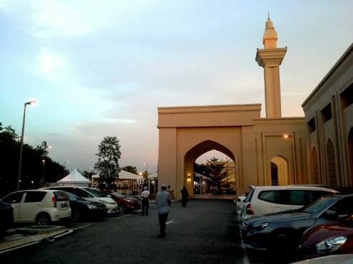 Suasana MTAJ sebelum iftar