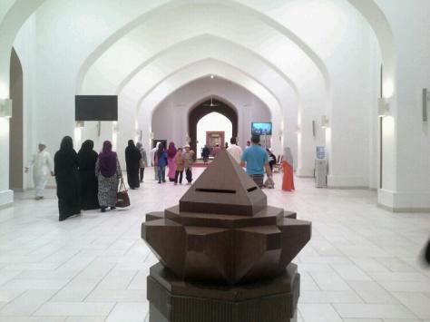 Ruang legar sebelum masuk ke MTAJ